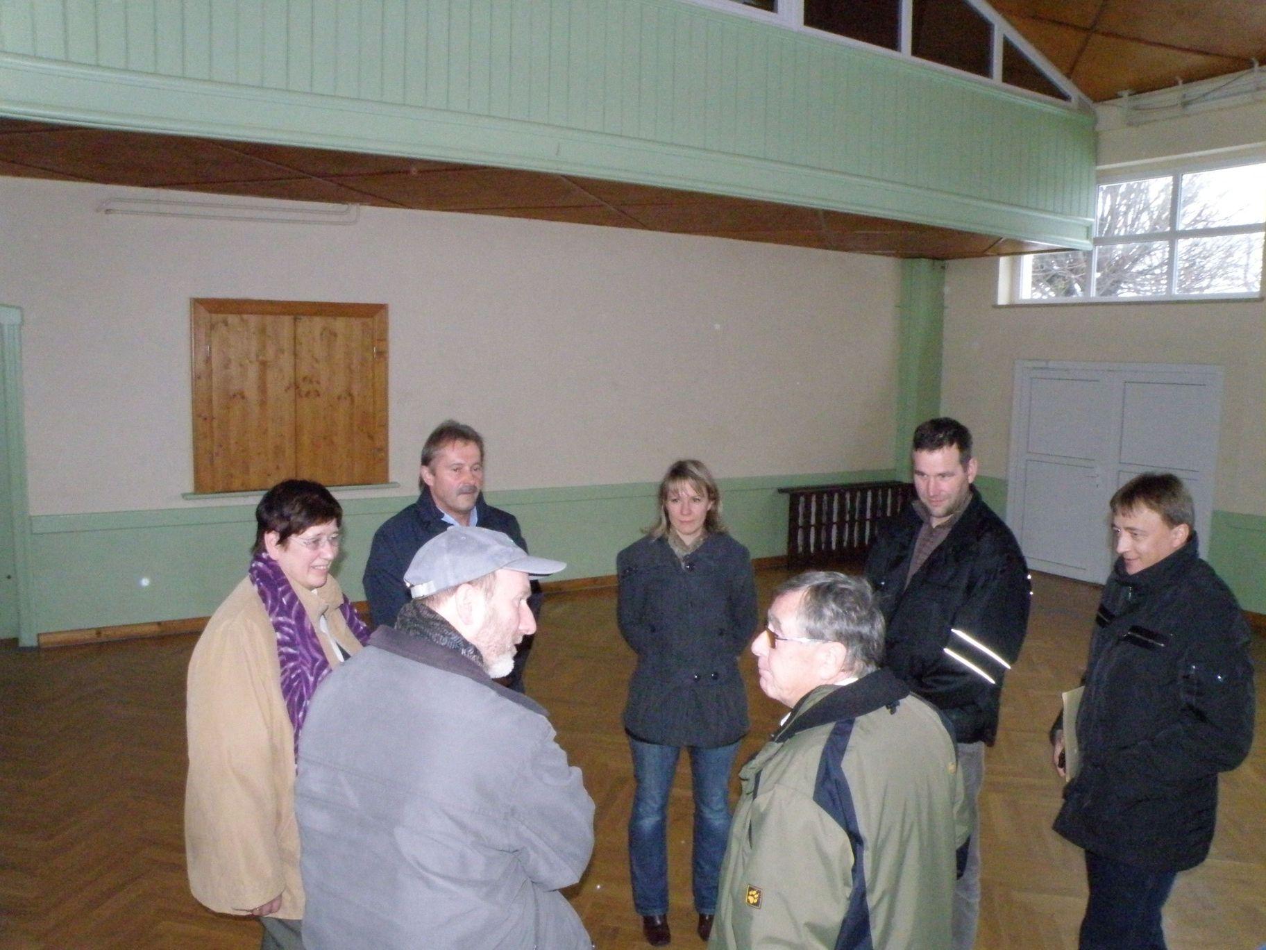 Besichtigung des Objektes durch RAG-Vorstandsmitglieder am 26.11.2010