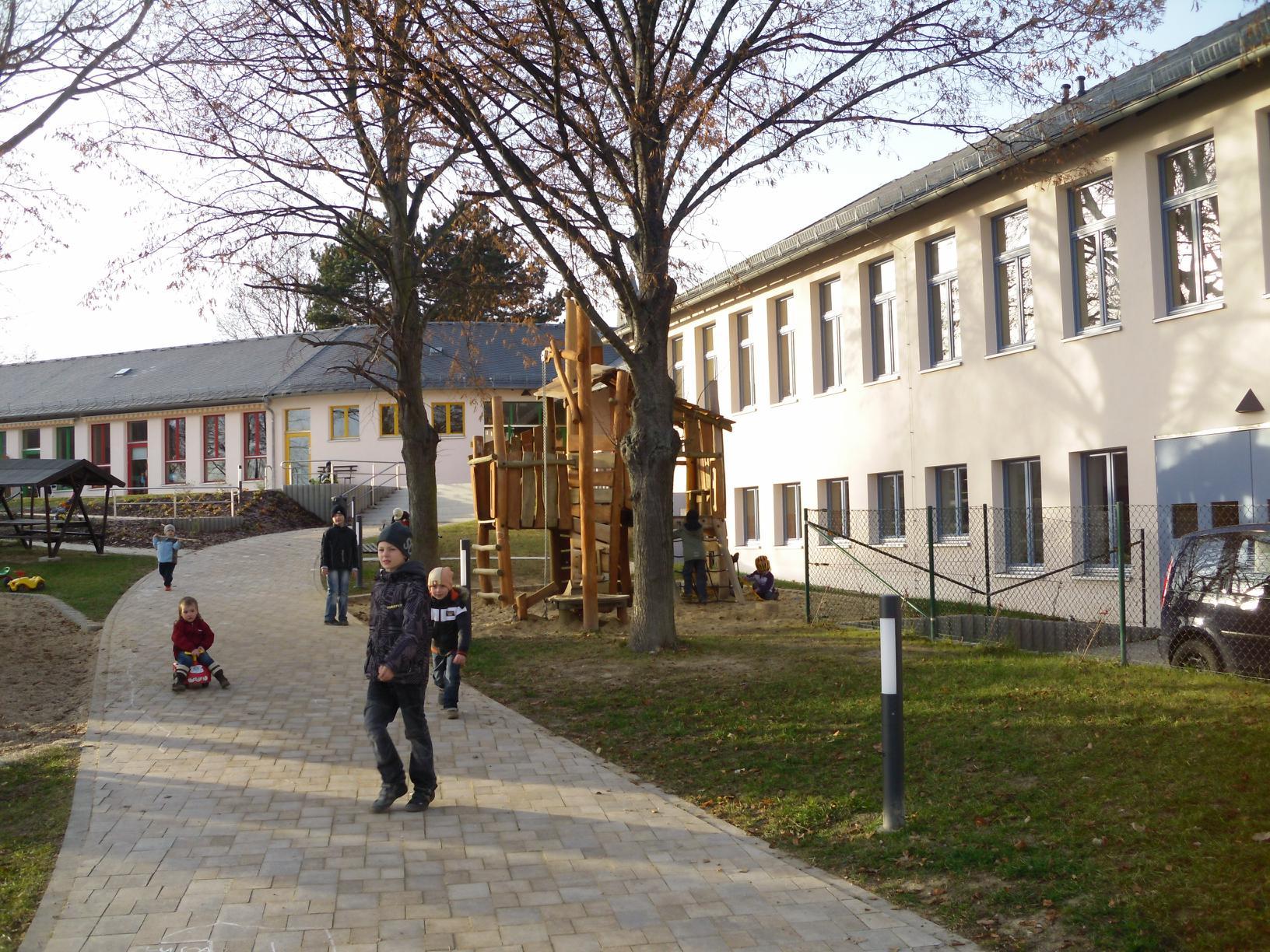 Die neue renovierte Kindertagesstätte in Wildetaube