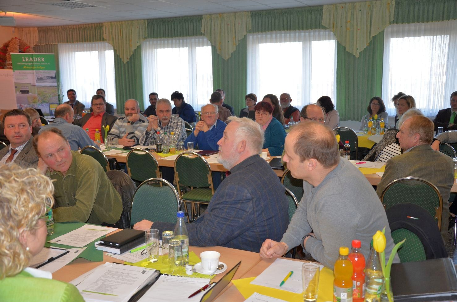 """2. Workshop zur Erarbeitung der RES """"Greizer Land"""" 2014-2020 am 09.03.2015 in Langenwetzendorf"""